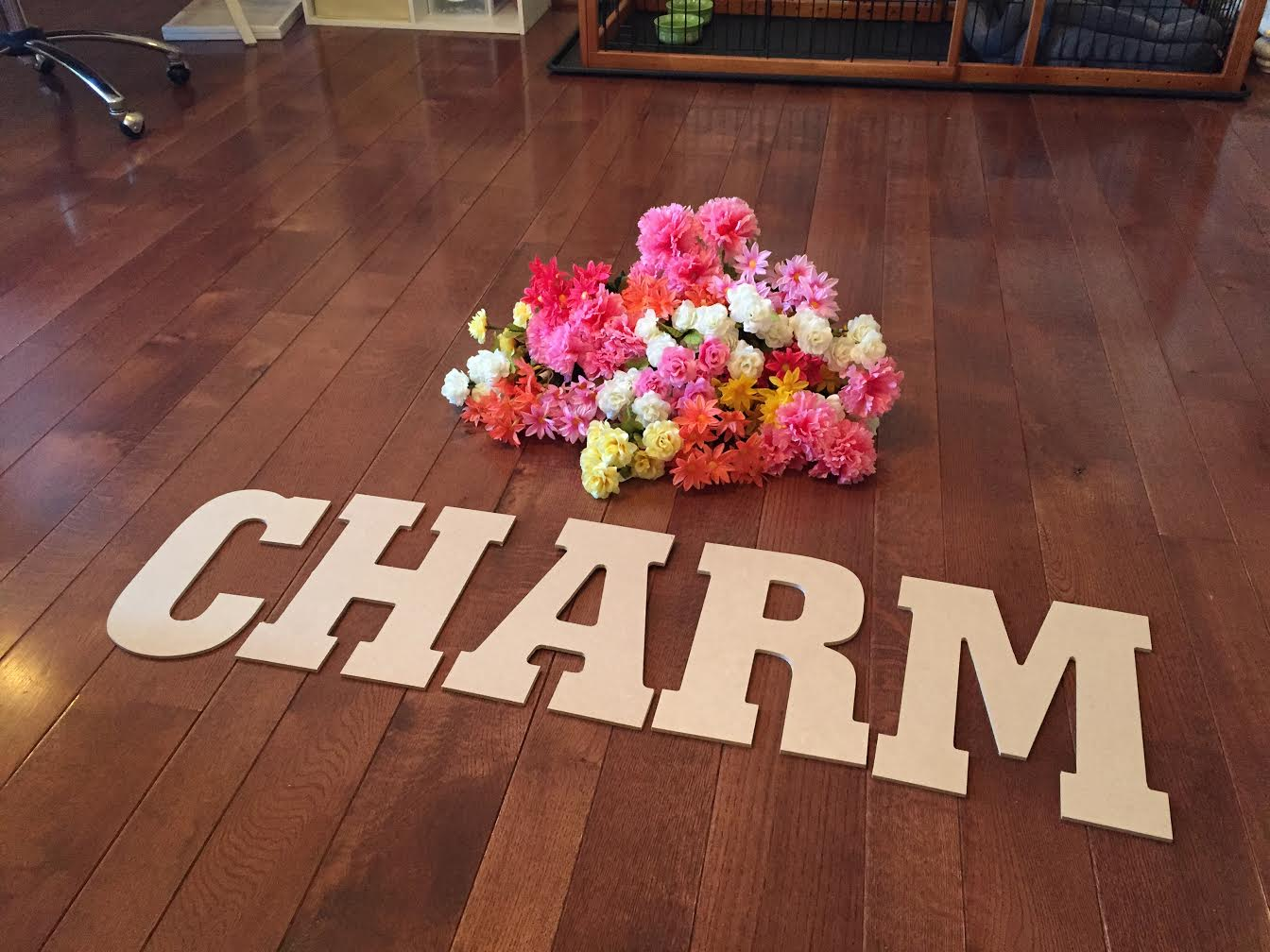 Flower Letters Diy Spring Craft Daily Dose Of Charm