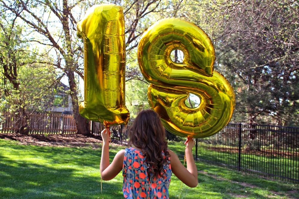 why 18 is different than 17, what you can do when you're 18