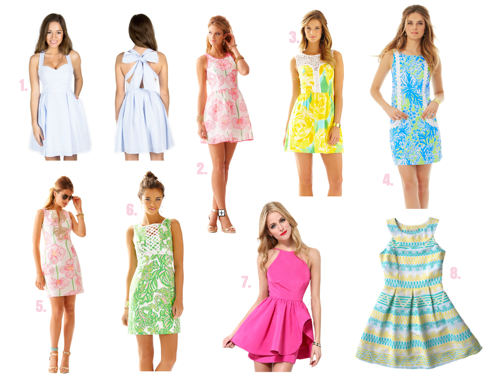 Kentucky Derby Dresses with links on where to buy