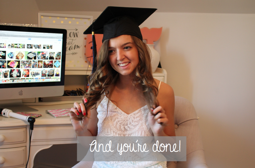 How to do your hair for graduation grad cap