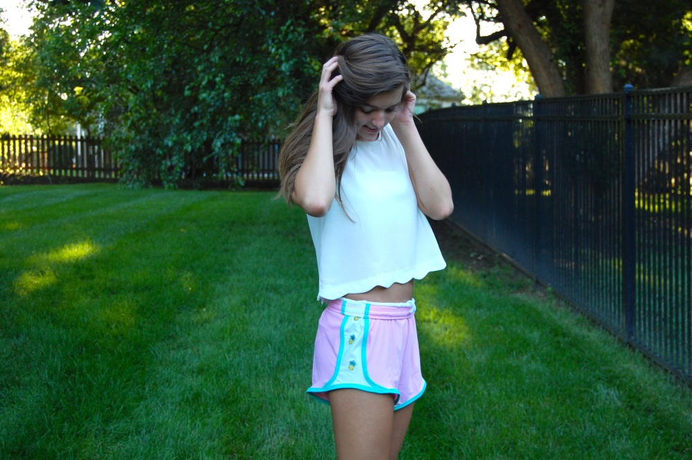 Krass & Co. preppy Pineapple shorts