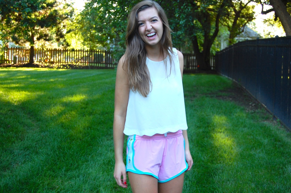 Krass & Co. preppy Pineapple shorts
