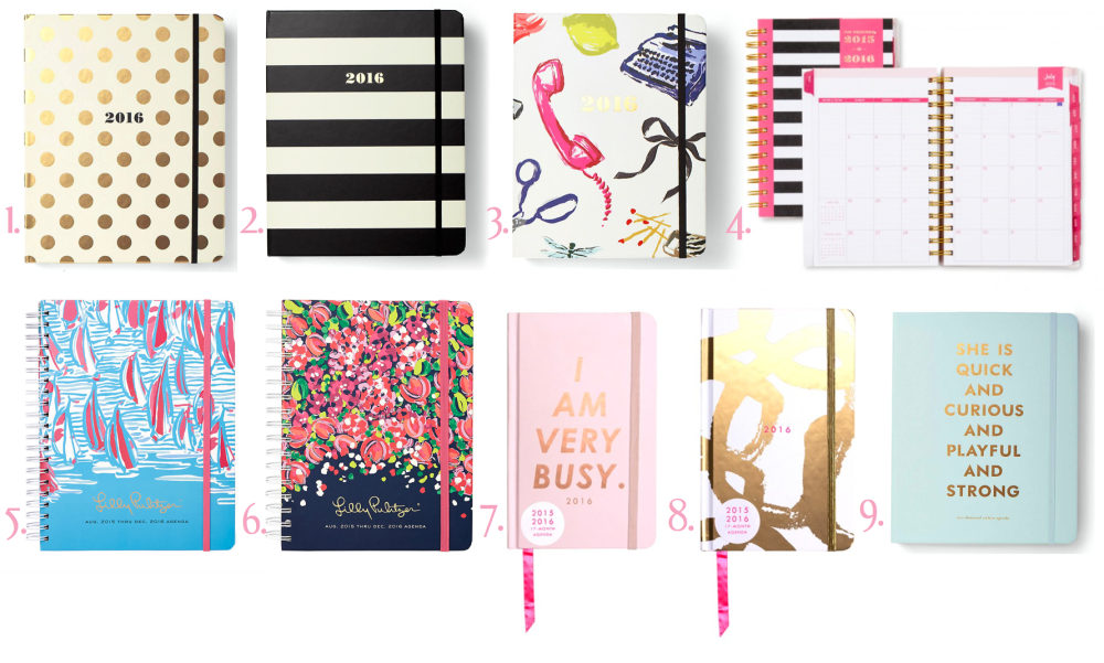 Best Planners thisYear - Back to School Series | Daily Dose of Charm by Lauren Lindmark